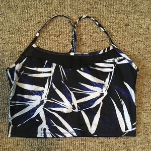 Fabletics size Small sports bra crop top
